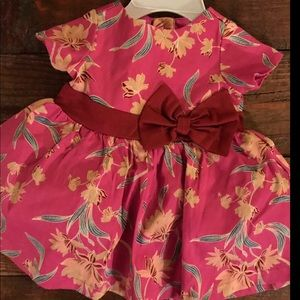 Easter Pink Dress 0-3 NWT